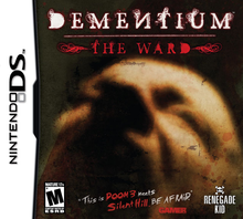 Box art for the game Dementium The Ward