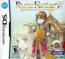 Box art for the game Rune Factory: A Fantasy Harvest Moon