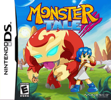 Box art for the game Monster Tale