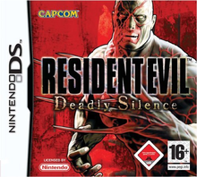 Box art for the game Resident Evil: Deadly Silence