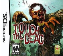 Box art for the game Touch the Dead