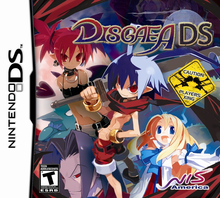 Capa do jogo Disgaea DS