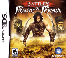 Box art for the game Battles of Prince of Persia