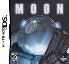 Box art for the game Moon