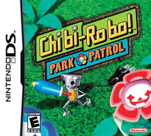 Box art for the game Chibi-Robo Park Patrol