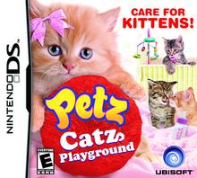 Box art for the game Petz Catz Playground