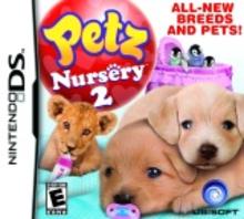 Box art for the game Petz: Nursery 2
