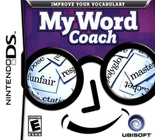Box art for the game My Word Coach