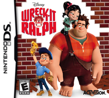 Box art for the game Wreck-It Ralph