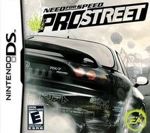 Box art for the game Need for Speed: ProStreet