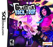 Box art for the game Guitar Rock Tour