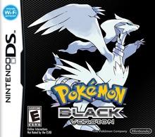 Box art for the game Pokemon Black Version