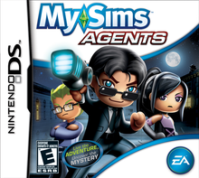 Box art for the game MySims Agents