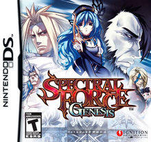 Box art for the game Spectral Force Genesis