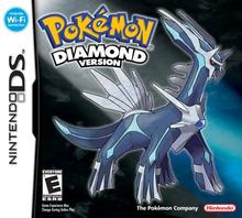 Box art for the game Pokemon Diamond Version