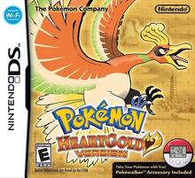 Box art for the game Pokemon HeartGold Version