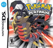 Capa do jogo Pokemon Platinum Version