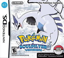 Capa do jogo Pokemon SoulSilver Version
