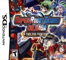 Box art for the game Super Robot Taisen OG Saga: Endless Frontier