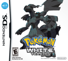 Box art for the game Pokemon White Version