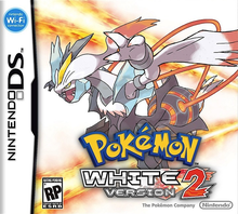 Box art for the game Pokemon White Version 2