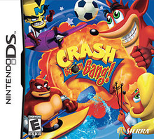 Box art for the game Crash Boom Bang!