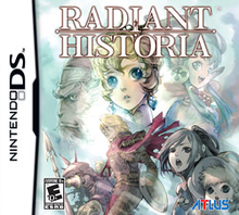 Box art for the game Radiant Historia
