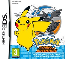 Box art for the game Learn with Pokemon: Typing Adventure