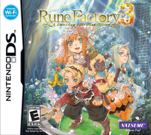 Box art for the game Rune Factory 3: A Fantasy Harvest Moon