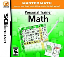 Box art for the game Personal Trainer: Math