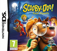 Box art for the game  Scooby-Doo! First Frights