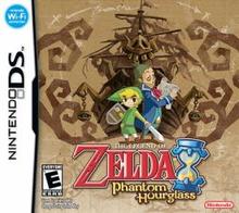 Box art for the game The Legend of Zelda: Phantom Hourglass