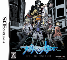 Capa do jogo The World Ends with You