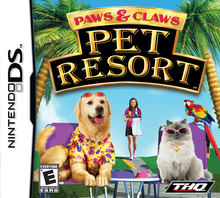 Box art for the game Paws & Claws: Pet Resort
