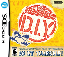 Box art for the game WarioWare D.I.Y.