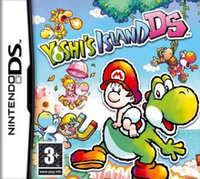 Box art for the game Yoshi's Island DS
