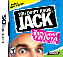 Box art for the game You Don't Know Jack