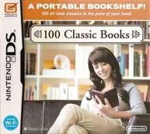 Box art for the game 100 Classic Books