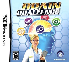 Box art for the game Brain Challenge