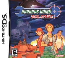 Box art for the game Advance Wars: Dual Strike