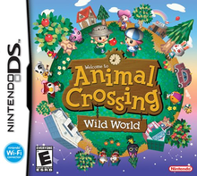 Box art for the game Animal Crossing: Wild World