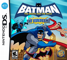 Box art for the game Batman: The Brave and the Bold