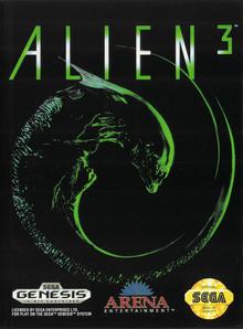 Box art for the game Alien 3