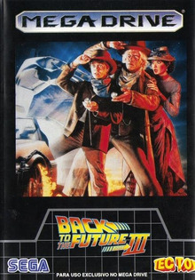 Box art for the game Back to the Future III