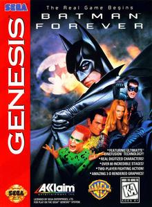 Box art for the game Batman Forever