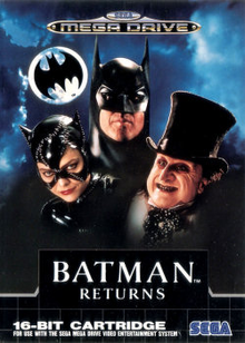 Box art for the game Batman Returns