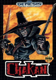 Box art for the game Chakan