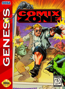 Box art for the game Comix Zone