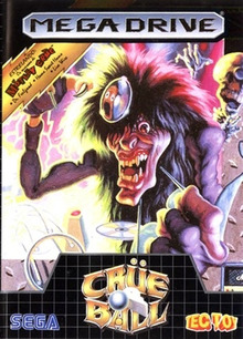 Box art for the game Crüe Ball: Heavy Metal Pinball