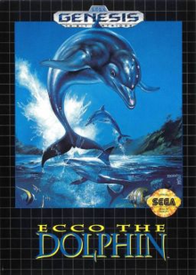 Box art for the game Ecco the Dolphin